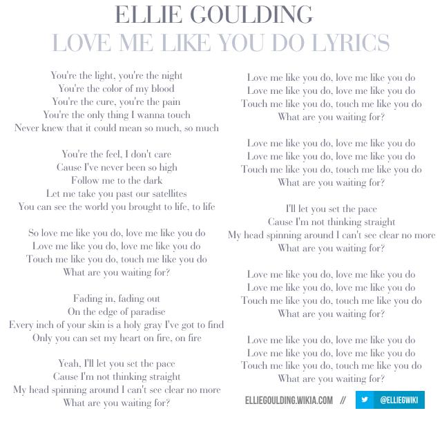 Love Me Like You Do Lyric And Chord — brad.erva-doce.info