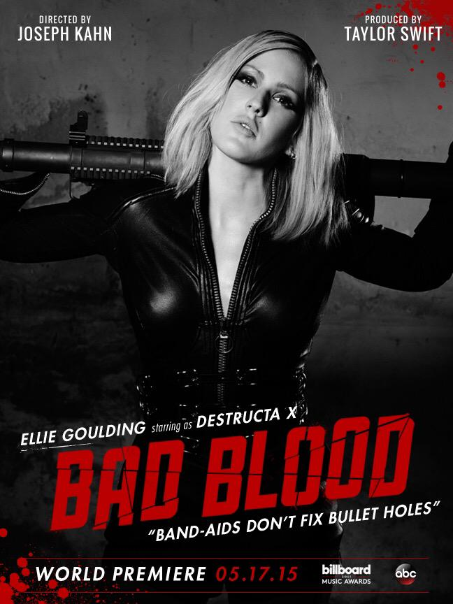 Lyric ellie goulding my blood lyrics : Image - Bad Blood poster (Destructa X).jpg | Ellie Goulding Wiki ...