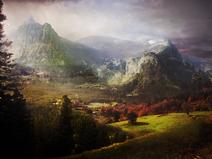 Nyrn mountain range