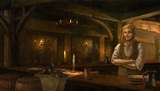 Tavern with Barkeep