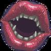Charming Lips Portrait