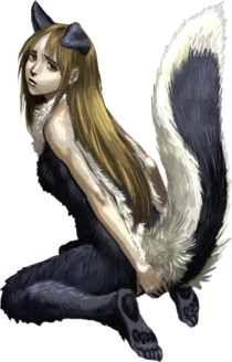 Skunk Girl