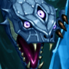 Saphire Dragon Portrait