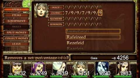 Pc-Elminage Gothic-gameplay 1