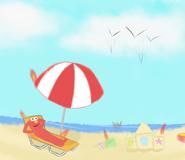 Elmo's vacation