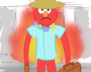 Elmo back from Vacation