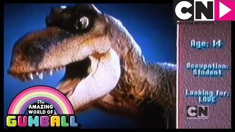 T-Rex Wants a Date The Amazing World of Gumball Cartoon Network