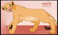 Nala with kiara by kati kopa