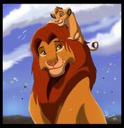 Simba and kopa by tlk ileana-d3ej121