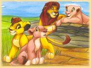 Simba s familie by kati kopa