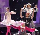 Un espontáneo se cuela en la actuación de España en Eurovisión 2010. 30/05/2010