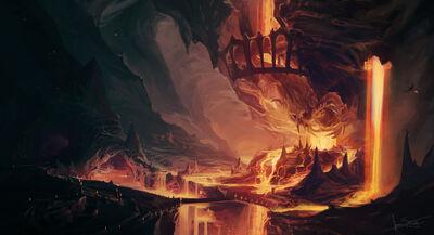 Volcano-cave-fin