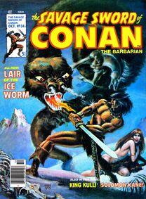 Espada Salvaje de Conan (1978 Revista) 34