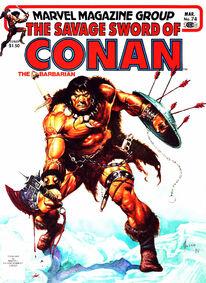 Espada Salvaje de Conan (1982 Revista) 74