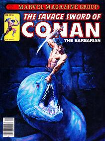 Espada Salvaje de Conan (1981 Revista) 61