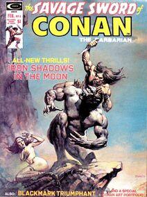 Espada Salvaje de Conan (1975 Revista) 4