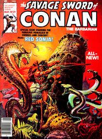 Espada Salvaje de Conan (1978 Revista) 29