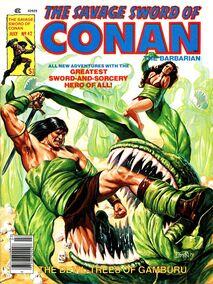 Espada Salvaje de Conan (1979 Revista) 42