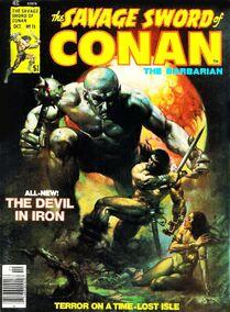 Espada Salvaje de Conan (1976 Revista) 15