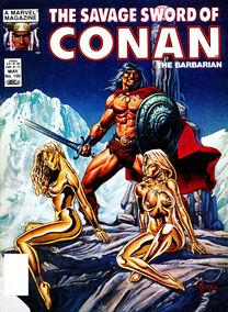 Espada Salvaje de Conan (1984 Revista) 100