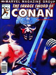 Espada Salvaje de Conan (1981 Revista) 62
