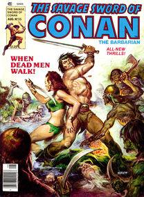 Espada Salvaje de Conan (1980 Revista) 55