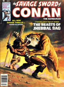 Espada Salvaje de Conan (1978 Revista) 27