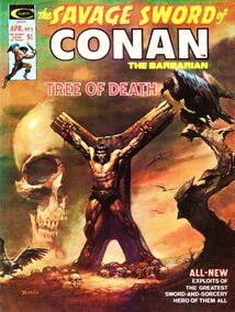 Espada Salvaje de Conan (1975 Revista) 5