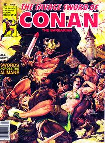 Espada Salvaje de Conan (1980 Revista) 50