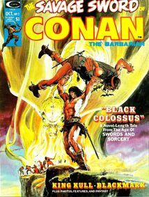 Espada Salvaje de Conan ( 1974 Revista ) 2