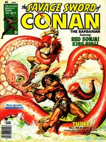 Espada Salvaje de Conan (1977 Revista) 23
