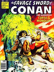 Espada Salvaje de Conan (1978 Revista) 33