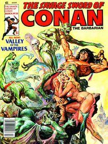 Espada Salvaje de Conan (1979 Revista) 38