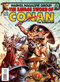 Espada Salvaje de Conan (1983 Revista) 90