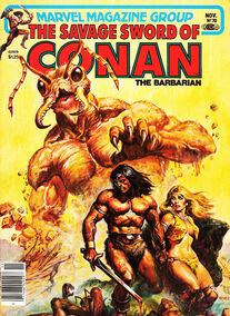 Espada Salvaje de Conan (1981 Revista) 70