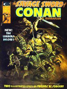 The Savage Sword of Conan The Barbarian nº6
