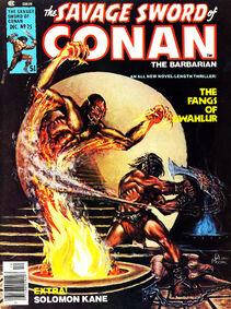 Espada Salvaje de Conan (1977 Revista) 25