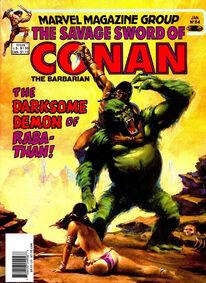 Espada Salvaje de Conan (1983 Revista) 84