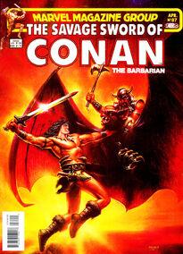 Espada Salvaje de Conan (1983 Revista) 87
