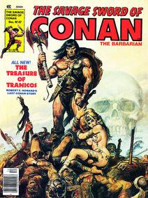 Espada Salvaje de Conan (1979 Revista) 47