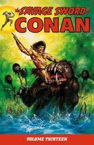 The Savage Sword of Conan. Volume 13