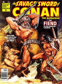 Espada Salvaje de Conan (1978 Revista) 28