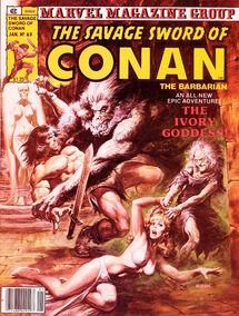 Espada Salvaje de Conan (1981 Revista) 60