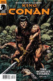 King Conan The Scarlet Citadel nº3