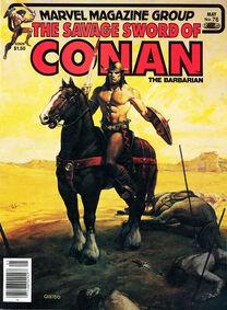 Espada Salvaje de Conan (1982 Revista) 76