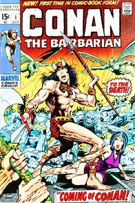 Conan The Barbarian. Marvel