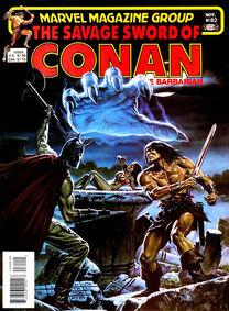 Espada Salvaje de Conan (1982 Revista) 82