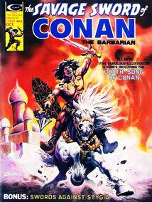 Espada Salvaje de Conan (1975 Revista) 8