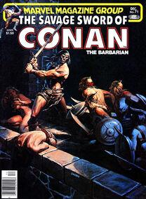 Espada Salvaje de Conan (1981 Revista) 71