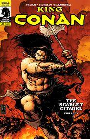 King Conan The Scarlet Citadel nº2